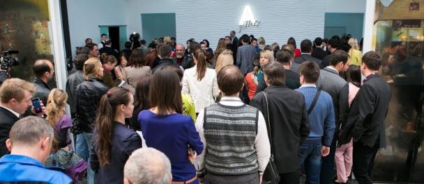 VIP-открытие A-Gallery
