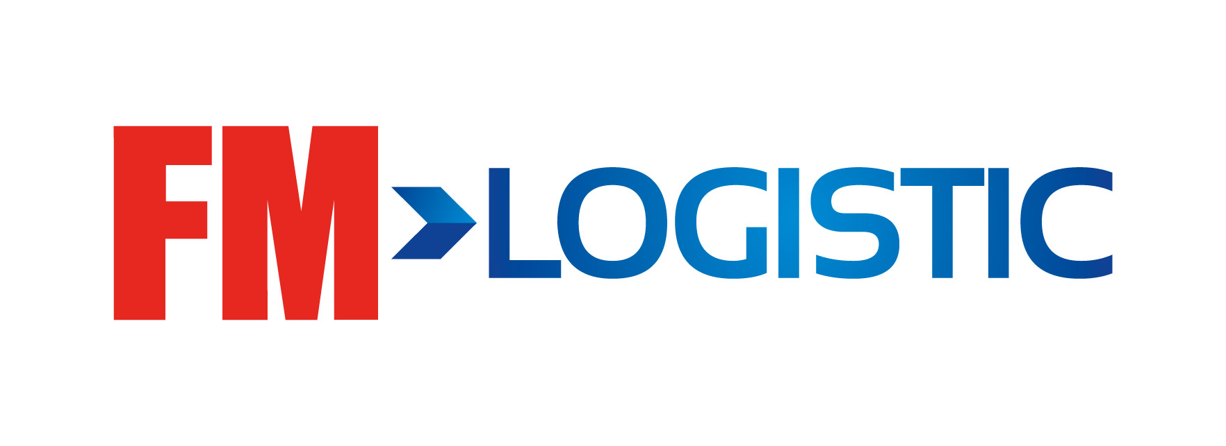 FM Logistic logo white background
