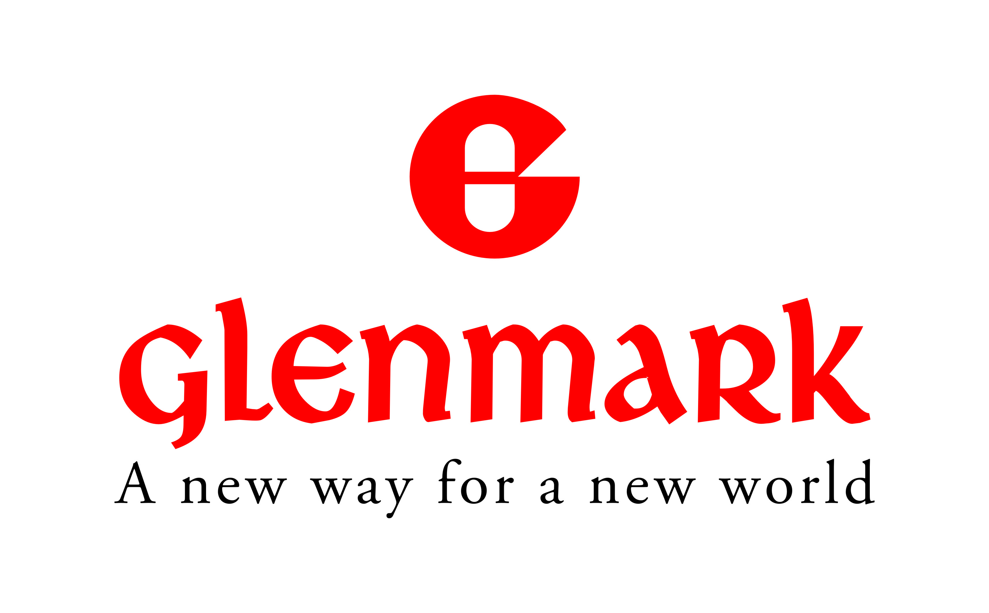 glenmark logo with tagline